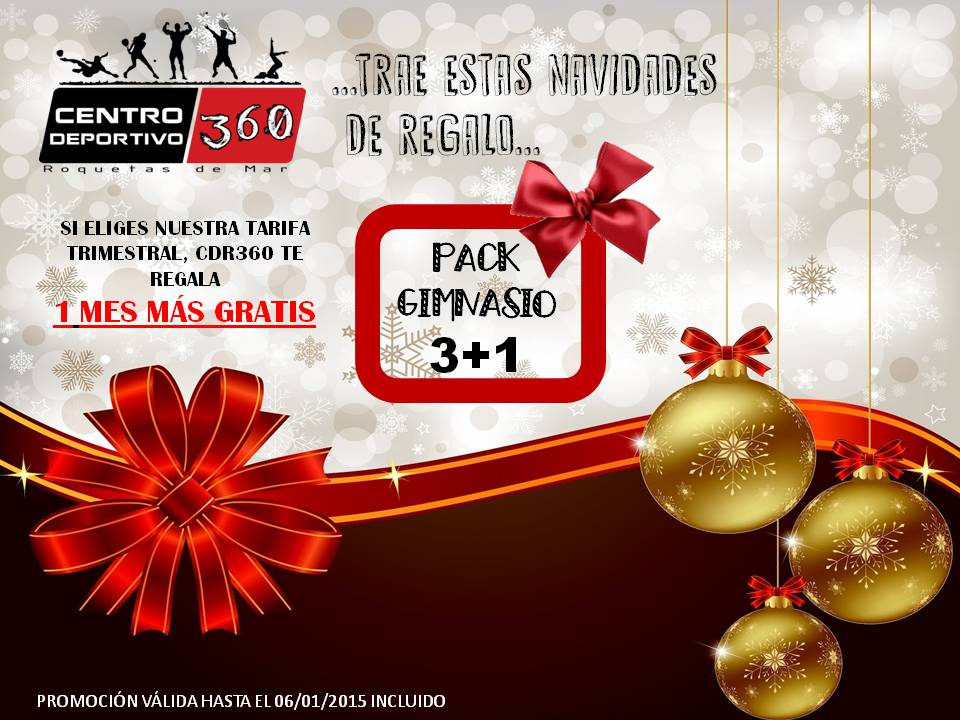 PACK 3 MAS 1 GYM